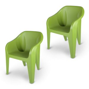 plastic chair set for outdoors