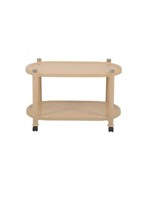 Movable centre table in plastic