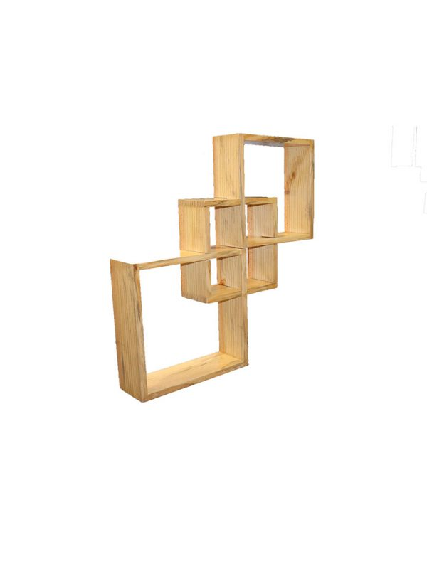 Wall shelf for utility and decoration